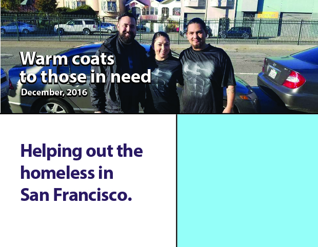 Coats for the less fortunate