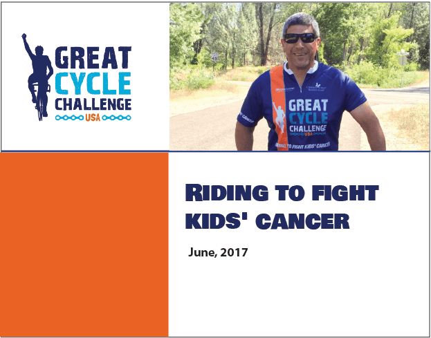 Riding to Fight Cancer