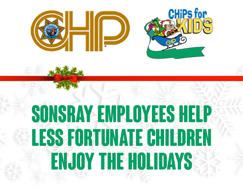 Sonsray employees help less fortunate children enjoy Christmas